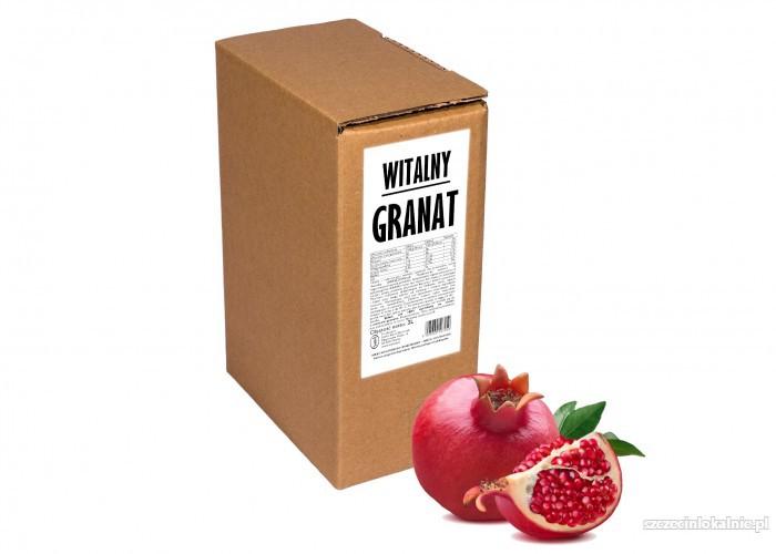 GRANAT 100% sok z granatu 3l naturalny tłoczony na zimno dla zdrowia